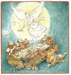 Engel uit de Legende van Sint Pannekoek