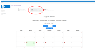 Event planner and scheduling app sharepoint