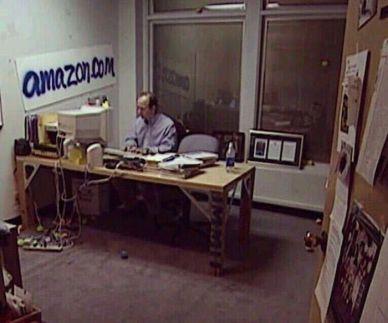 Il primo ufficio di Jeff Bezos, fondatore di Amazon