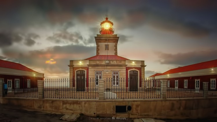 Lighthouse Cabo da Roca Sunset Sintra