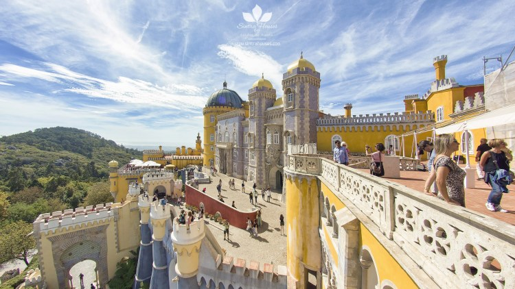 A view from the Pena Palace