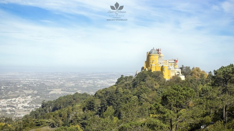 Pena Palace and his hill