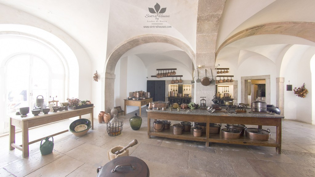 The kitchen of Pena Palace
