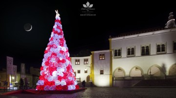 Christmas tree in the National Palace of Sintra