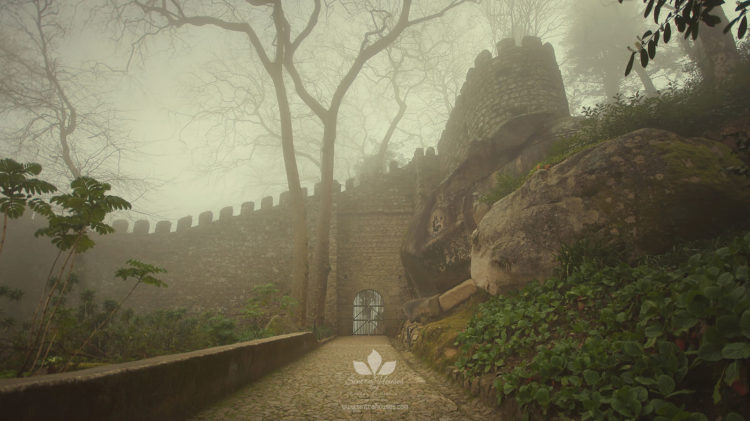 Moorish Castle - Entrance (The Castle of the Moors)