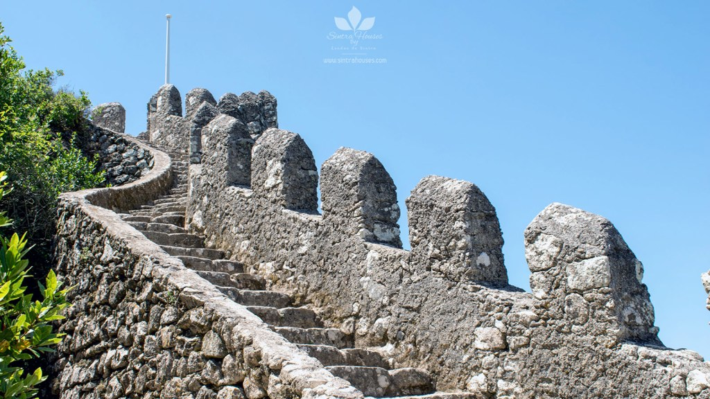 Moorish Castle - Stairs inside the walls