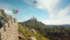Moorish Castle - Viewing to the Pena Palace