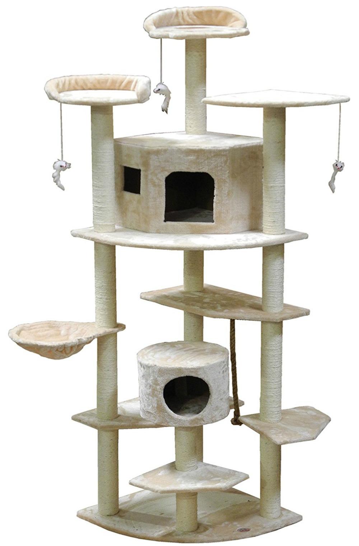 Go Pet Club Cat Tree 80 in. High