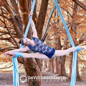 Autumn Aerial Silks Siobhan Johnstone