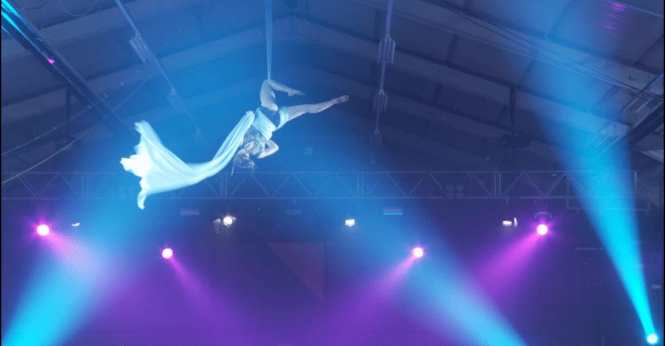 Siobhan Johnstone Aerial Silks Performance