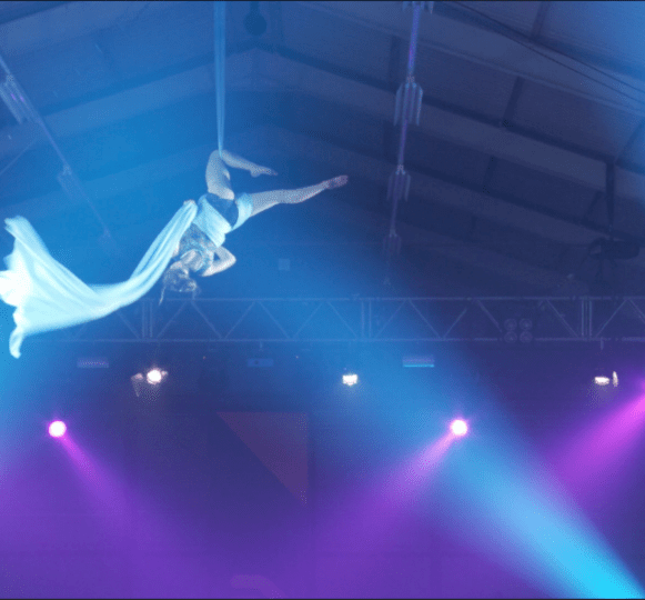 Siobhan Johnstone Aerial Silks Performance