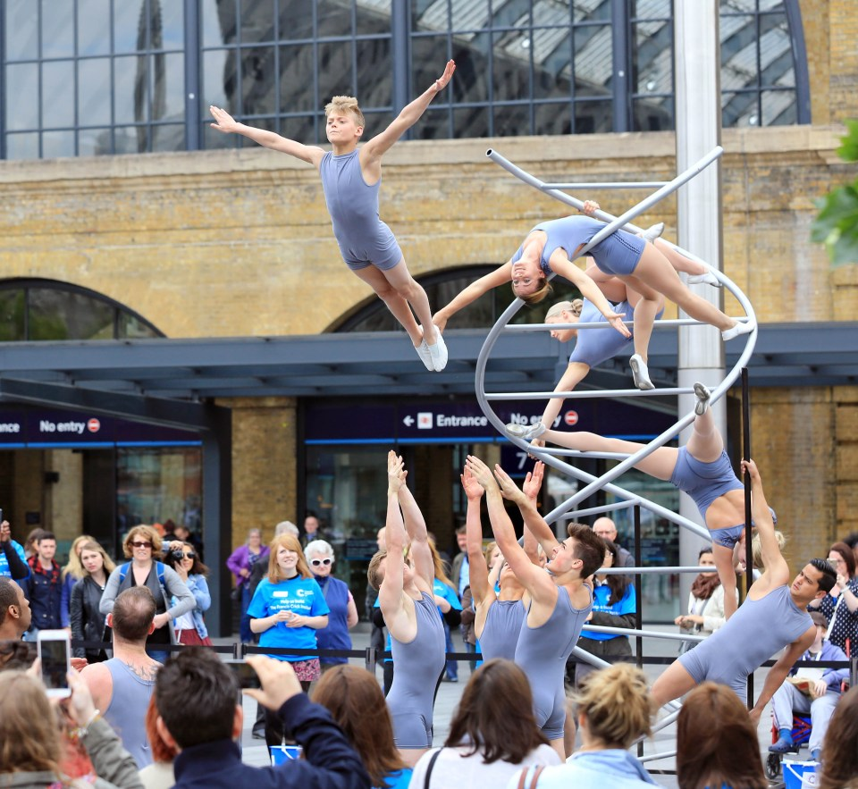 cancer research acrobat productions
