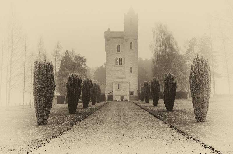 The Ulster Tower in The Somme