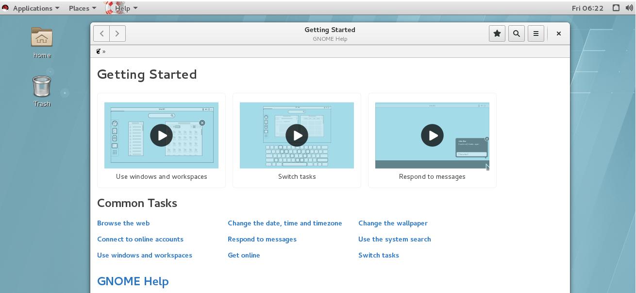 Setting up GUI access For Amazon EC2 RHEL 7