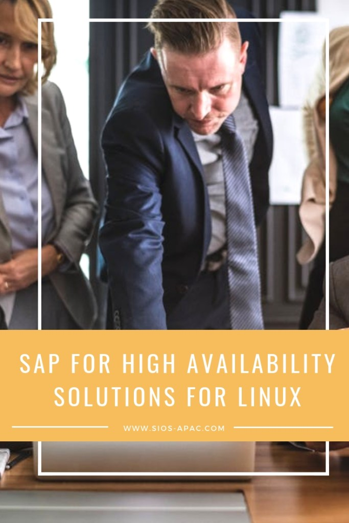 SAP for High Availability Solutions For Linux