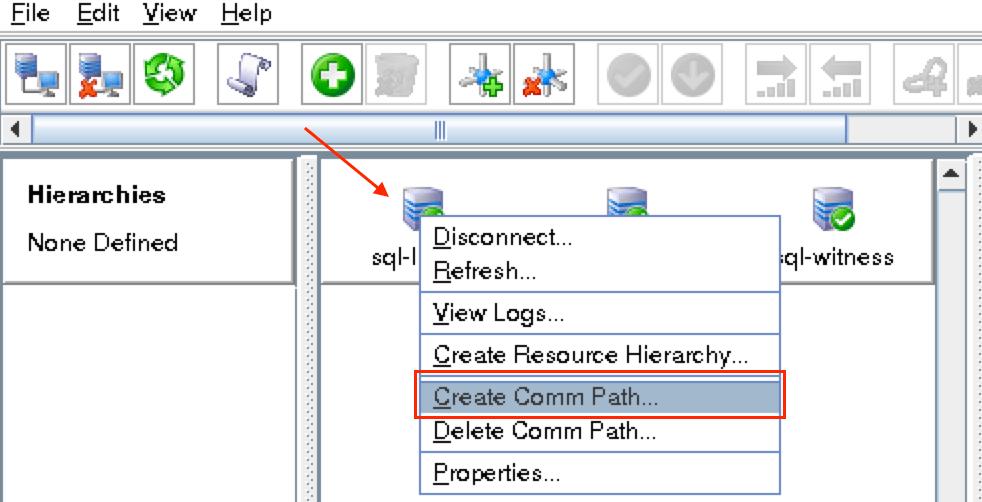 SQL-GUI的COMM1