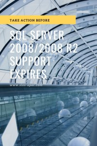 Take Action Before SQL Server 20082008 R2 Support Expires