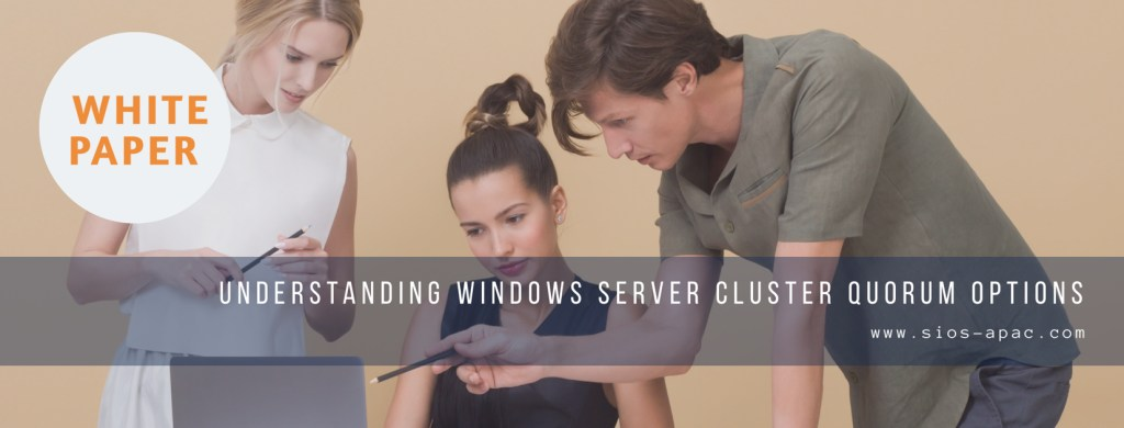 Understanding Windows Server Cluster Quorum Options