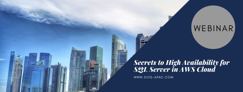 Secrets to High Availability for SQL Server in AWS Cloud