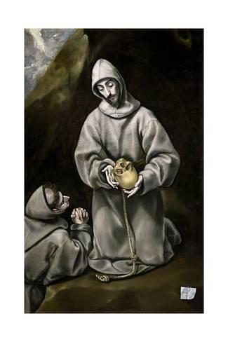 św.Franciszek i brat Leon
