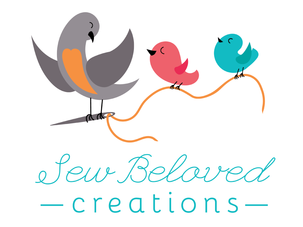 Logo Design for Sew Beloved Creations of Brandon, South Dakota