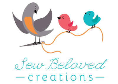 Logo Design for Sew Beloved Creations of Brandon, South Dakota