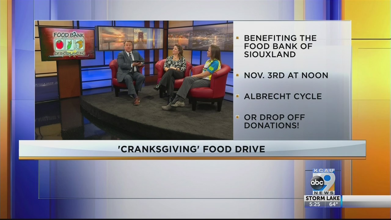 Interview For Cranksgiving Food Drive