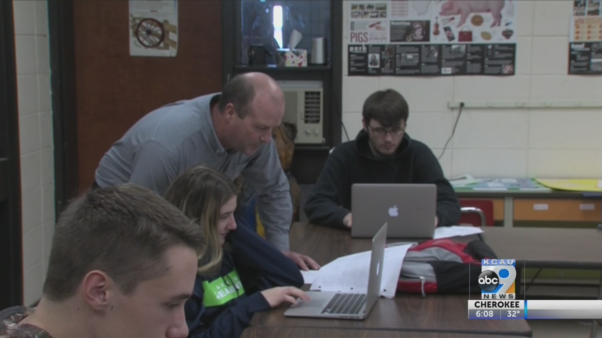 A.W. teacher nominated for national award