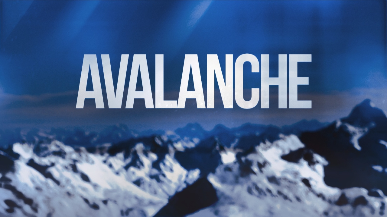 avalanche, mountain