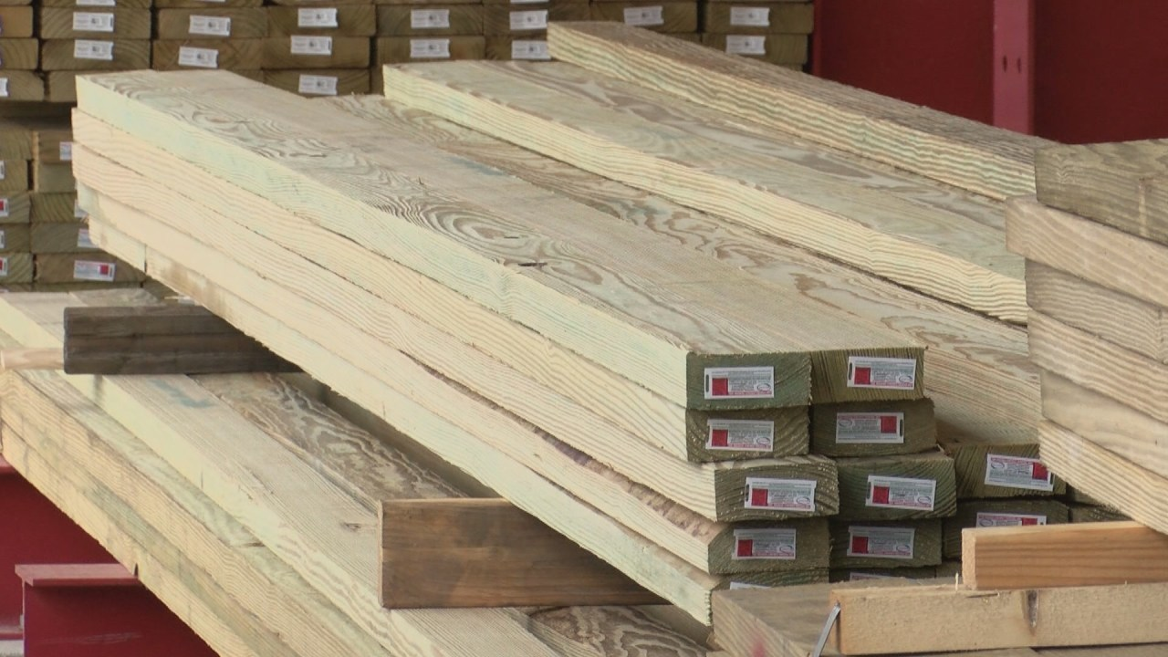 At Home Projects Affect Supply And Demand Of Lumber