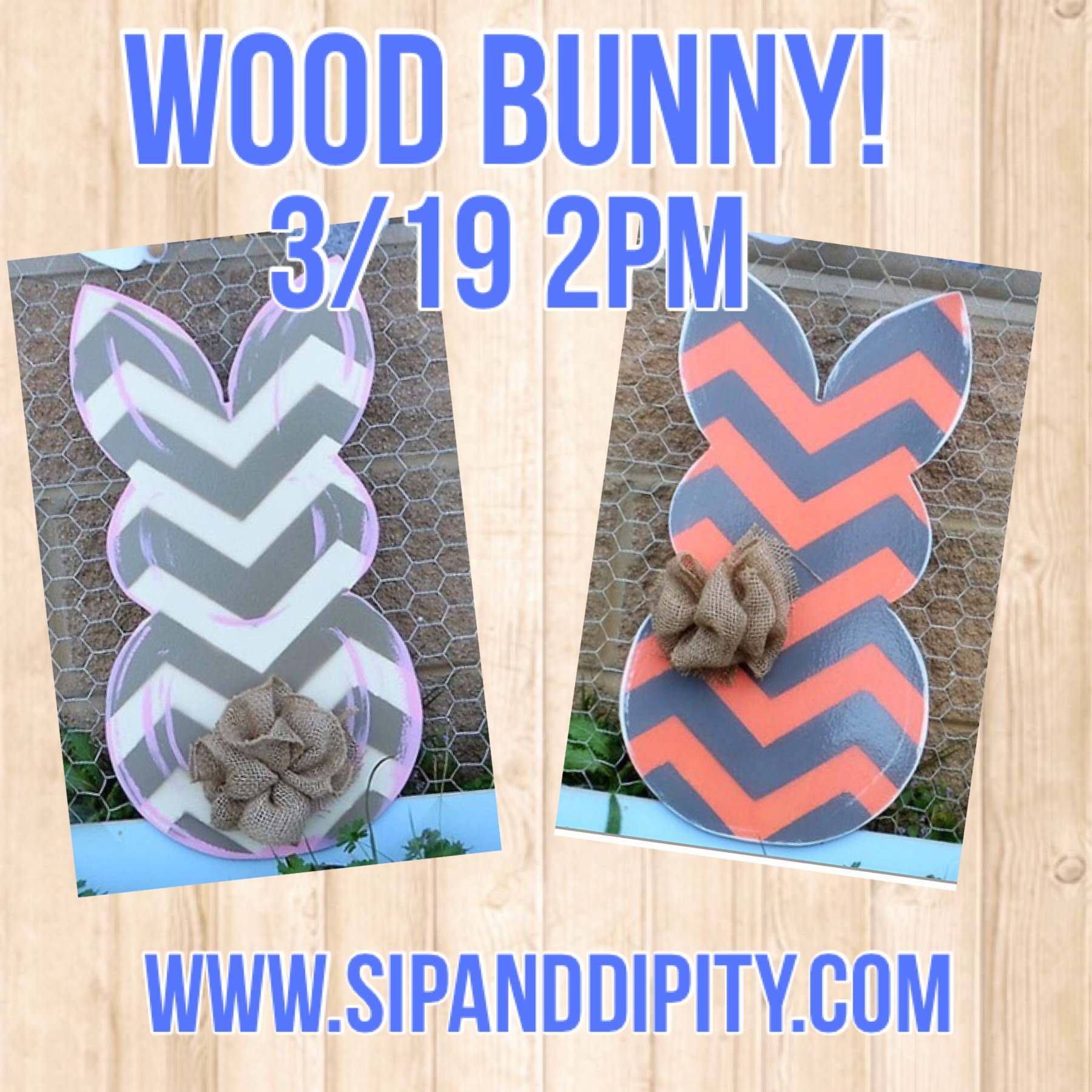 Wood Bunny!
