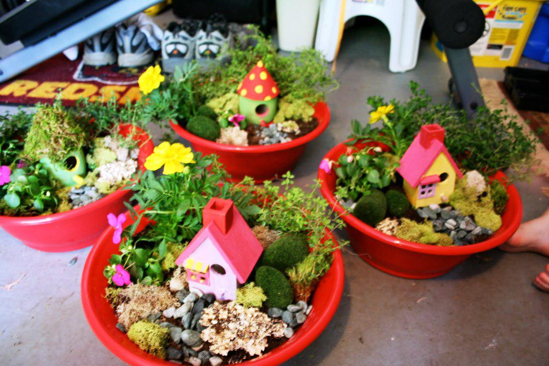 Mommy & Me Fairy Gardens