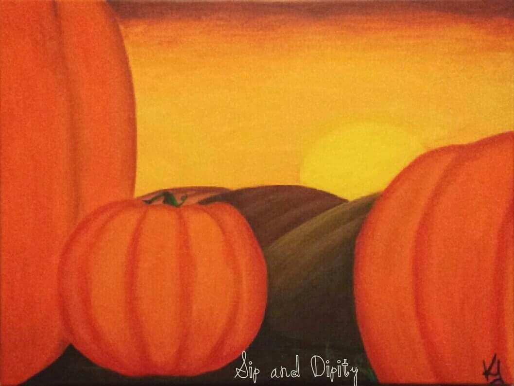 Peaceful Pumpkins