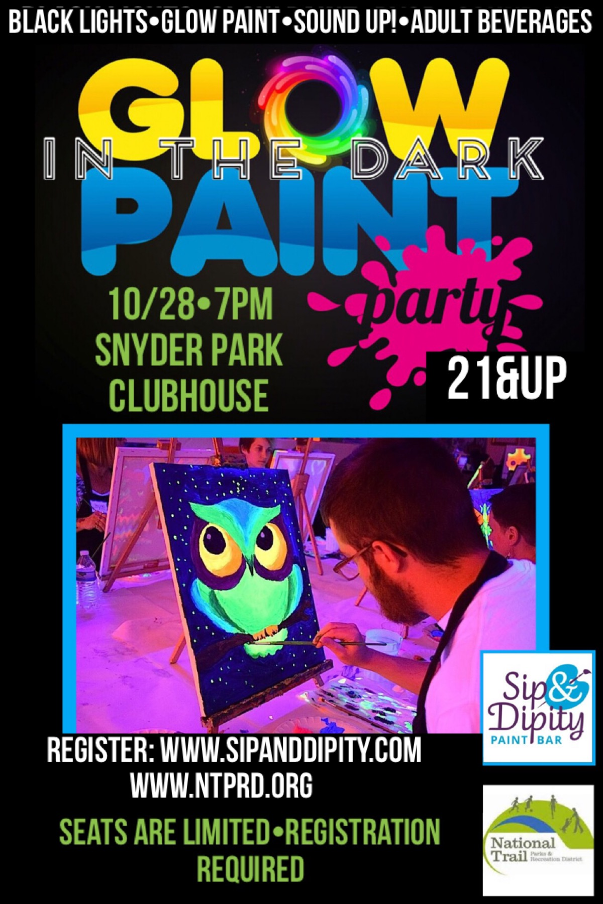 Glo Paint Party!