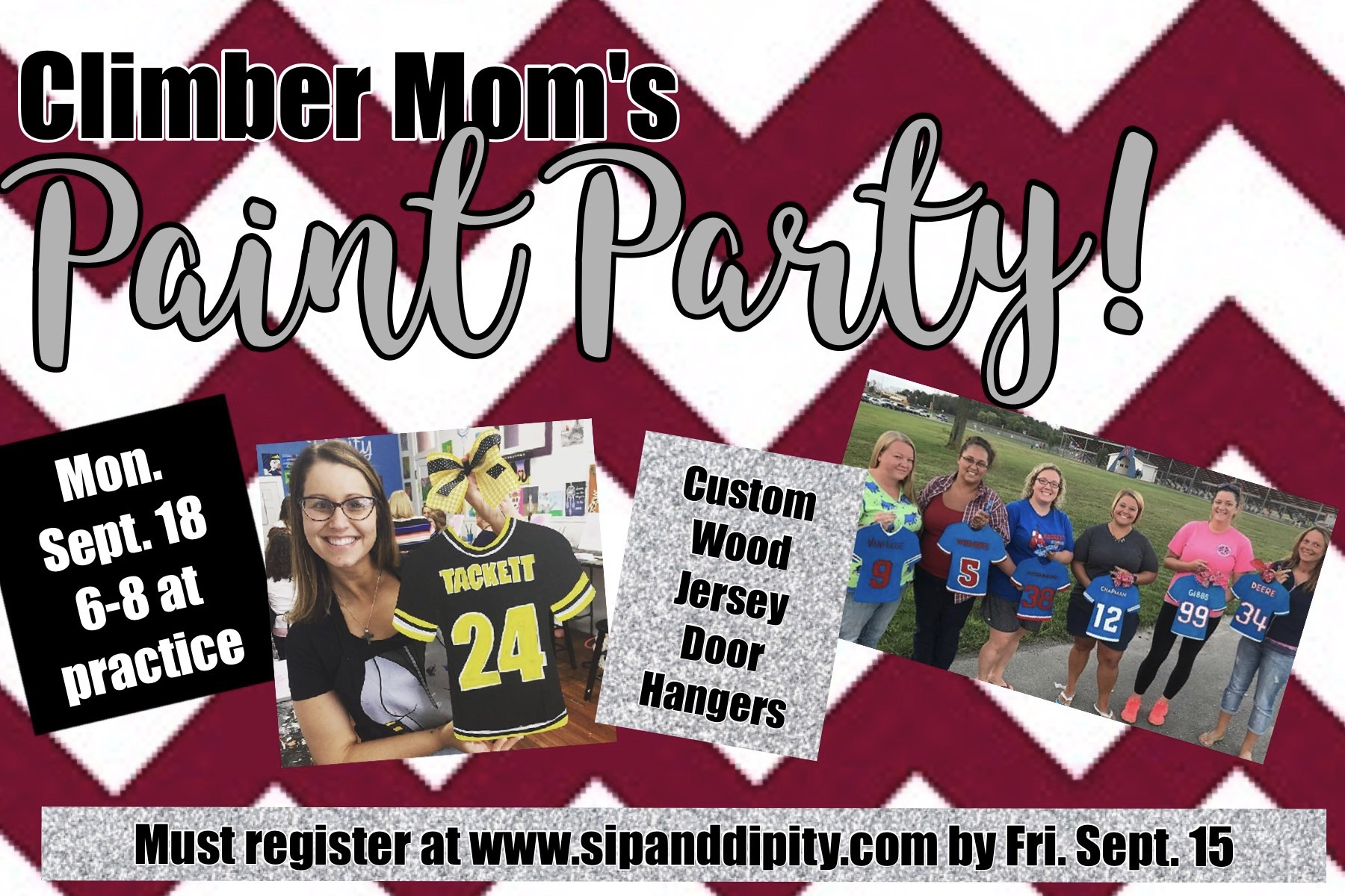 Climber Mom's Paint Party!