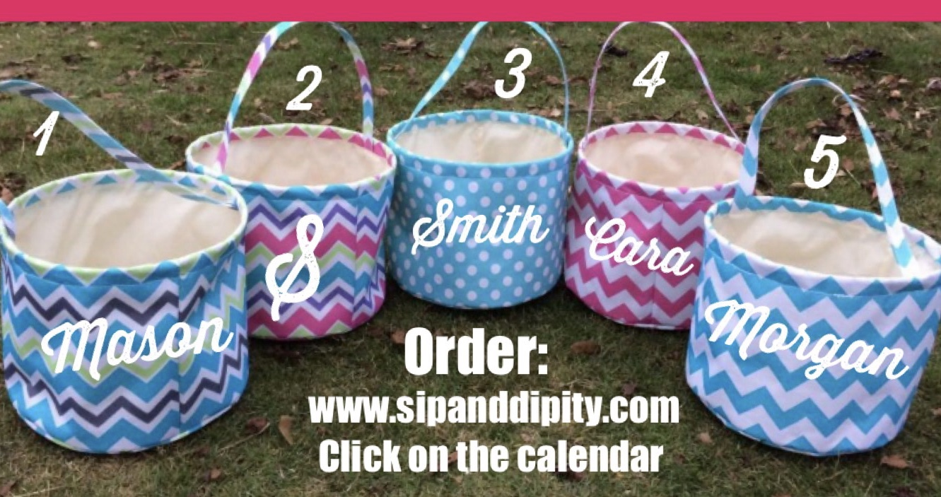 Personalized Easter Baskets- Order Here