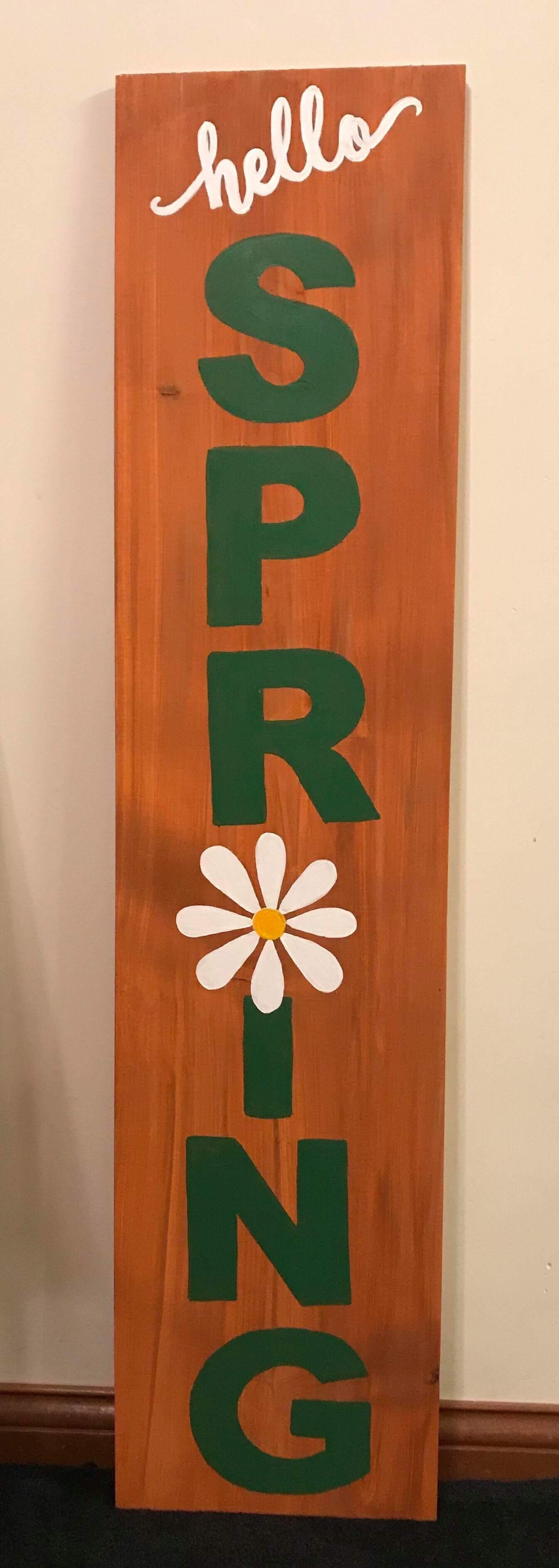 Hello Spring 4ft Board
