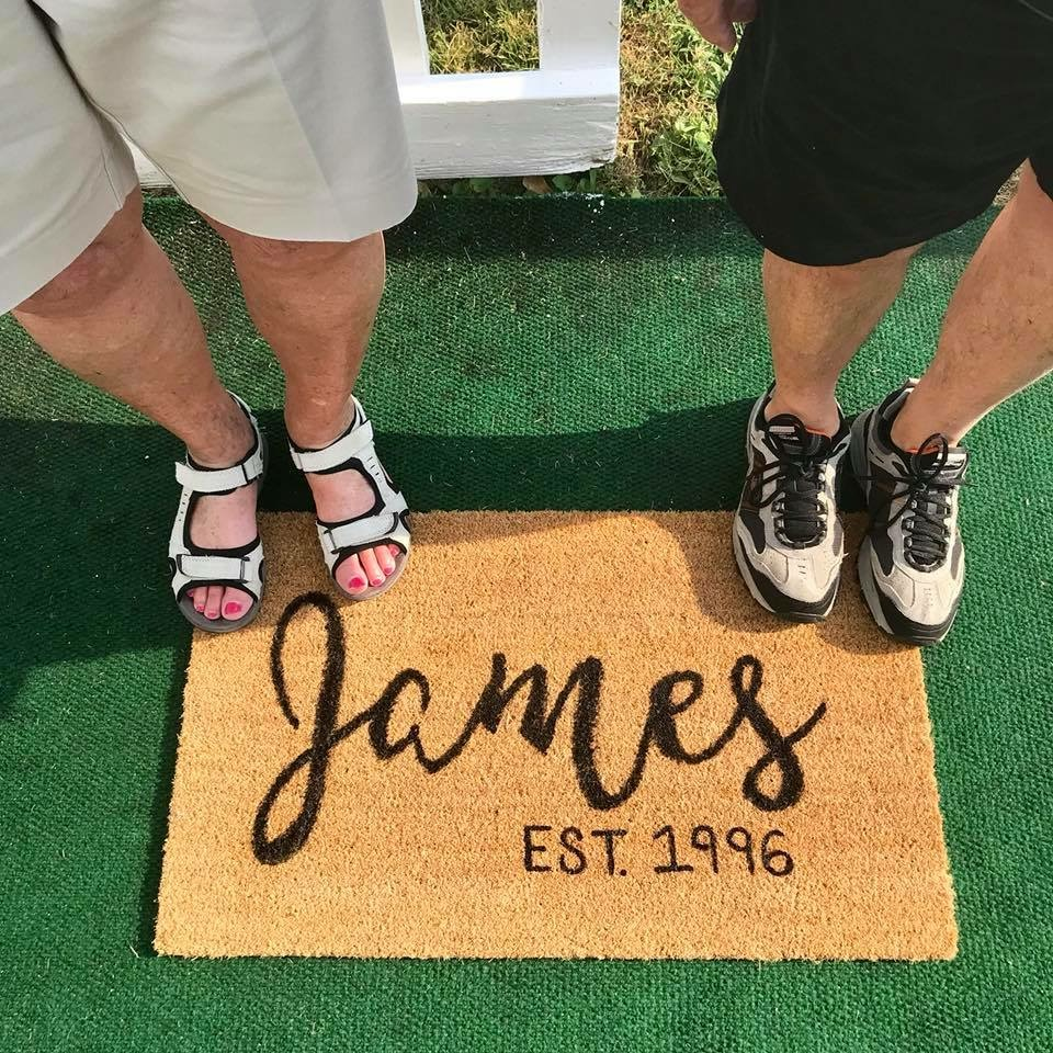 Personalized Doormat Workshop