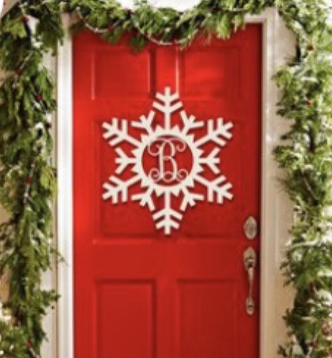 Order your Snowflake Monogram here