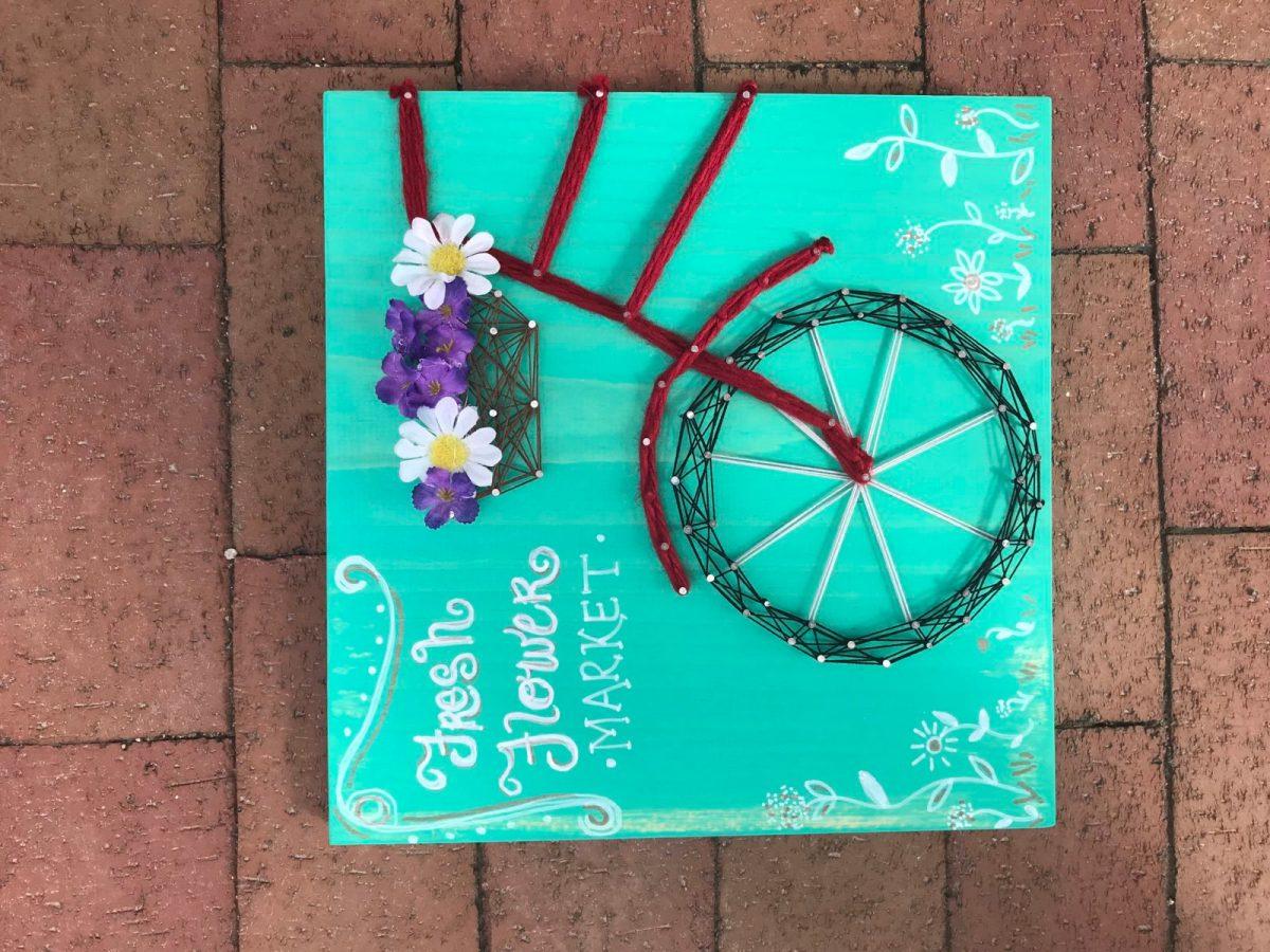 String Art Bike