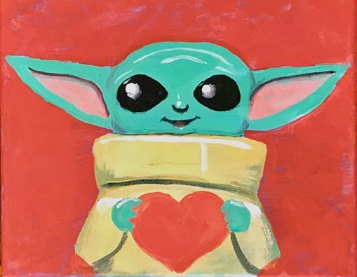 Yoda Loves Me