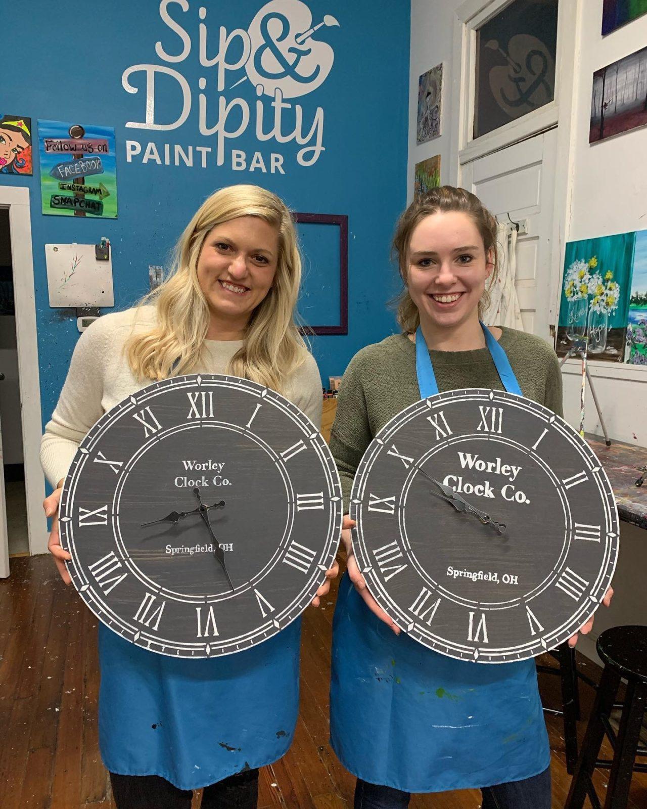 Personalized Wood Clocks