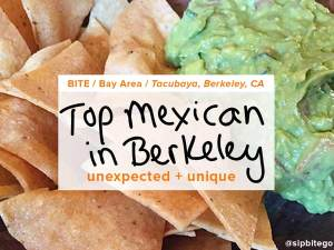 A visit to Tacubaya, the best mexican in Berkeley CA, right outside San Francisco. @sipbitego - more at sipbitego.com