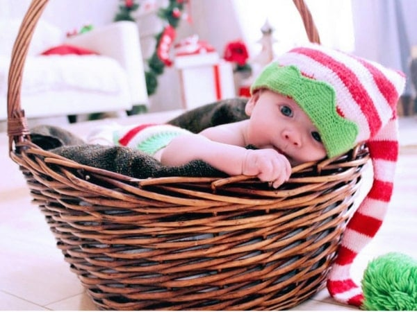 Christmas themed baby Halloween costumes