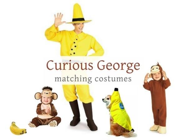 Curious George Halloween costume Ideas