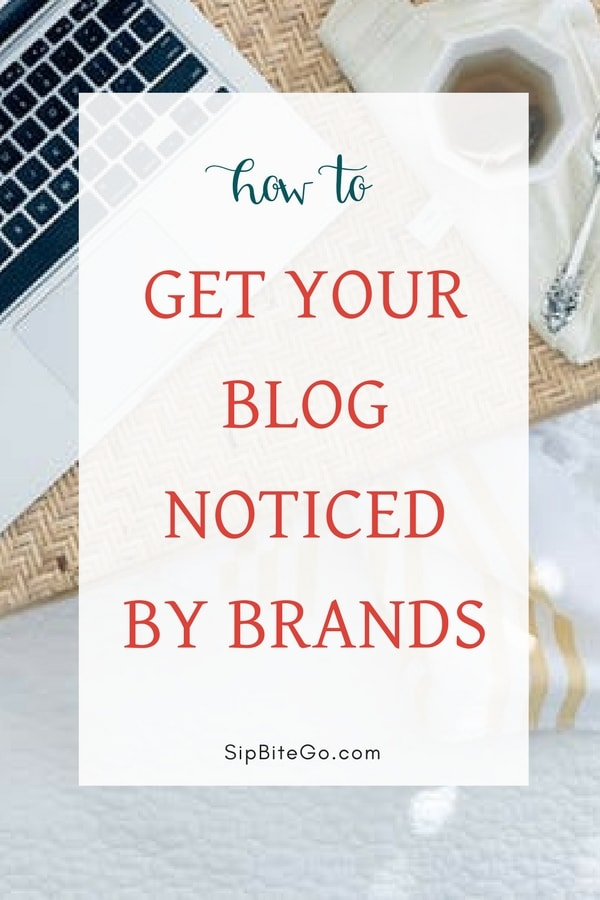 Learn how to get your blog noticed by brands and grow your community min