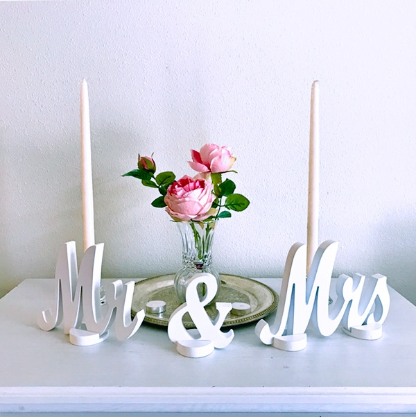 Wedding Contest: Win a Mr and Mrs sweetheart table wedding sign ...