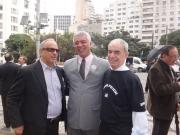 Dr. Marinózio, Deputado Major Olímpio e Rebouças.
