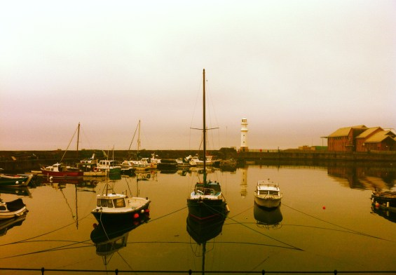Newhaven harbour - dawn