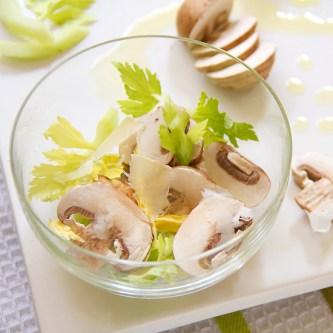 Italian Celery Mushroom Salad
